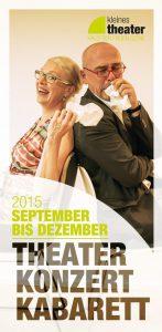 Programmheft September bis Dezember 2015
