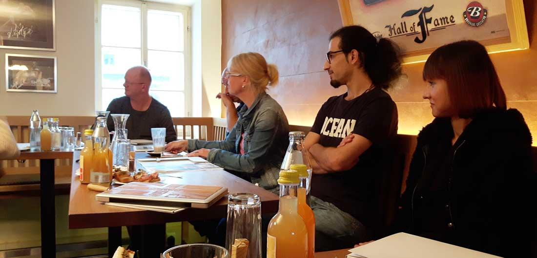pk 09 2016 - Großes Programm im kleinen theater - Pressegespräch am 29.09.2016
