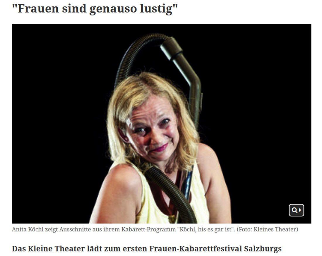 2017 02 07 meinbezirk diekabarett01 - Frauen sind genauso lustig - Bezirksblatt vom 07.02.2017