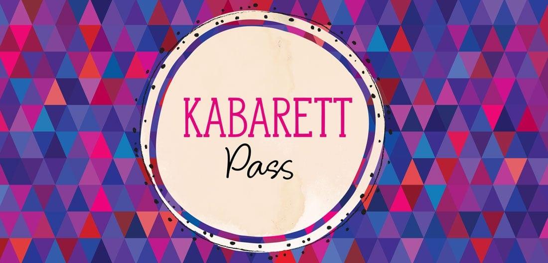kabarettpass - NEU: Der Kabarettpass