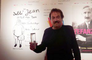 """plakatpreis01 300x195 - Juhu!! Das Plakat """"da Billi Jean is ned mei Bua"""" hat den 3. Platz beim #Kulturplakatpreis gewonnen!"""