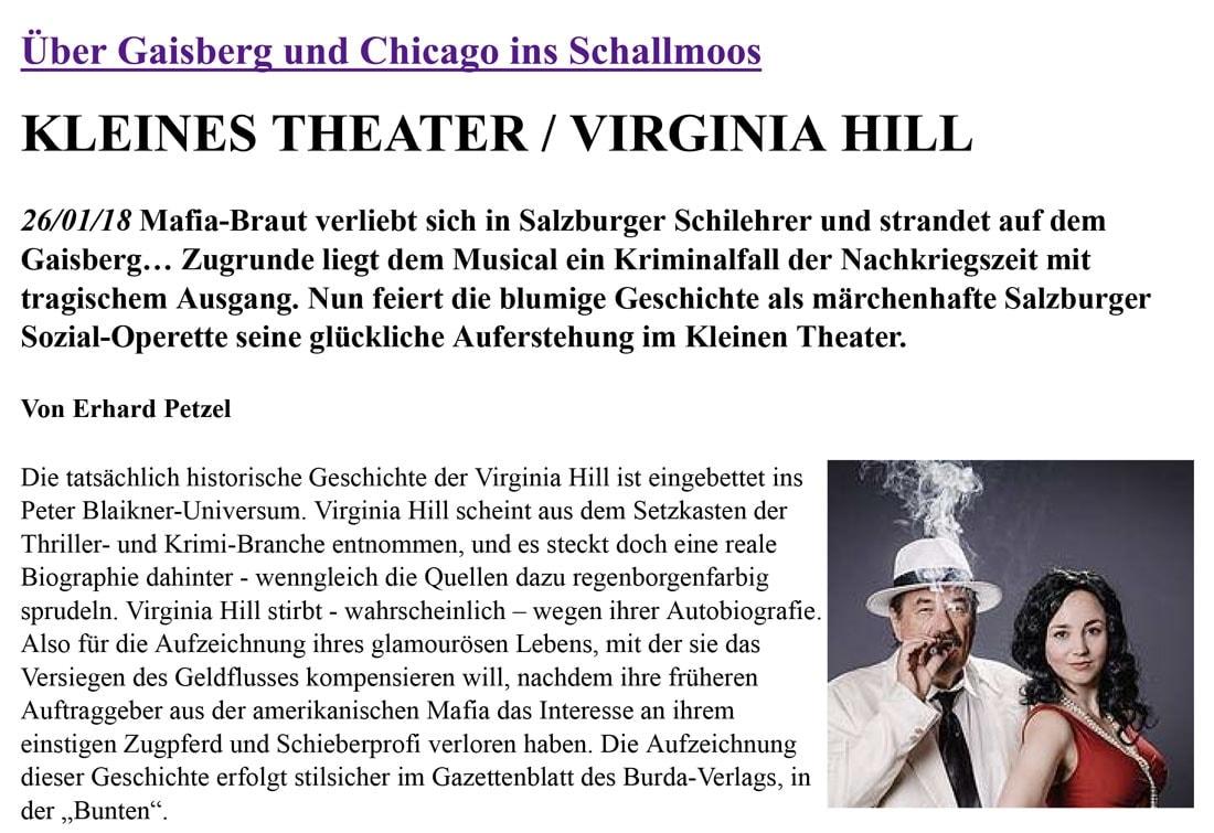 20180126 virginia drehpunkt 01 - Über Gaisberg und Chicago ins Schallmoos - DrehPunktKultur vom 26.01.2018