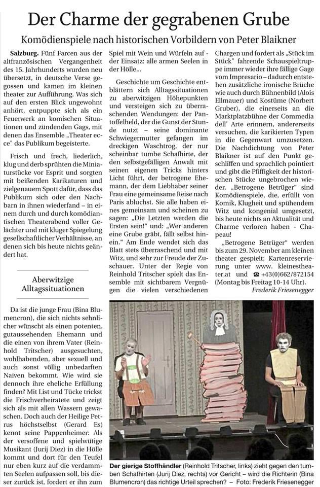46750645 2508581255849136 1067933202854707200 n - Der Charme der gegrabenen Grube - Reichenhallter Tagblatt vom Nov. 2018