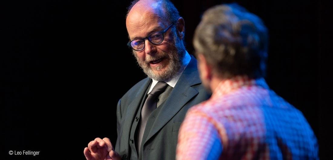 theatermacher blog - Salzburg-Stadt Premiere: Der Theatermacher mit Charly Rabanser am 10.01.2019