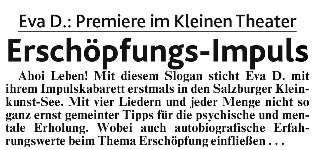 20190329 BER Krone EvaD 01 - Erschöpfungs-Impuls - Kronenzeitung vom 28.03.2019