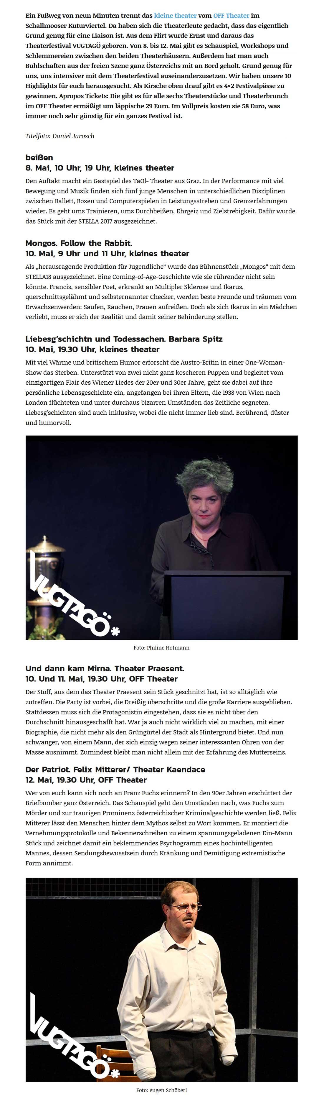 2019 04 24 vugtagoe FF 02 - Unsere 10 Highlights am VUGTAGÖ* Theaterfestival - Fräulein Flora vom 24.04.2019