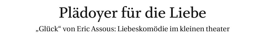201900510 KRI ReichhallerTagblatt Glueck 01 - Plädoyer für die Liebe - Reichenhaller Tagblatt vom 10.05.2019