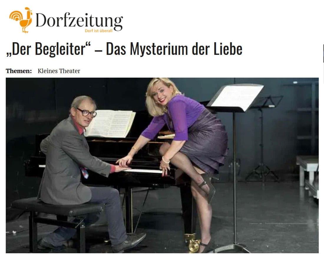 """19 09 20 Dorfzeitung Begleiter 01 - """"Der Begleiter"""" – Das Mysterium der Liebe - Dorfzeitung, vom 20.09.2019"""