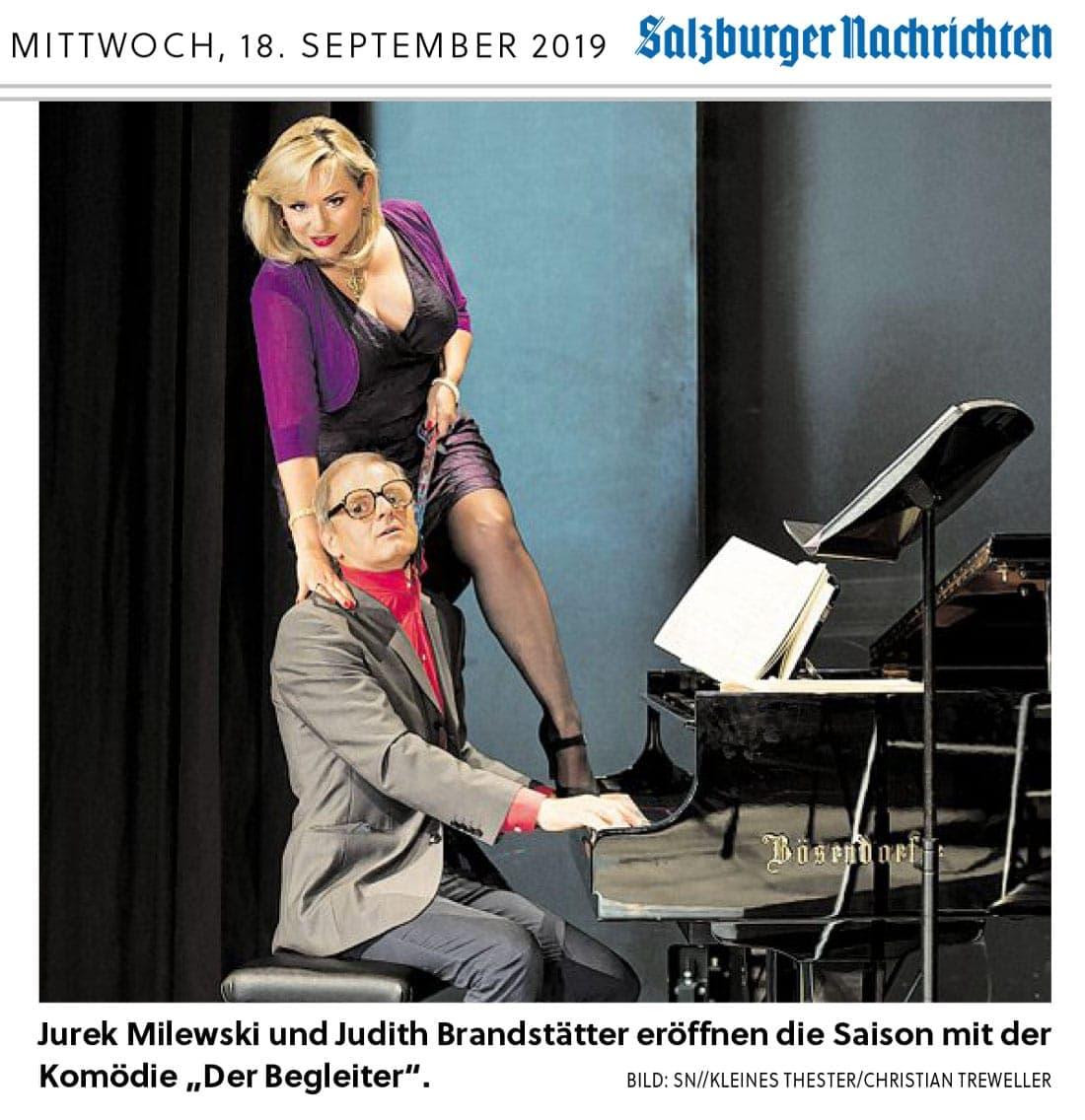 20190918 BER SN Saisonstart Pressekonferenz 01 - Kleines Theater startet mit polnischem Humor - SN vom 18.09.19