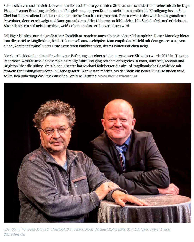 """20191028 dorfzeitung stein 03 - """"Der Stein"""" – vielen Dank und gute Reise! - Dorfzeitung vom 28.10.2019"""
