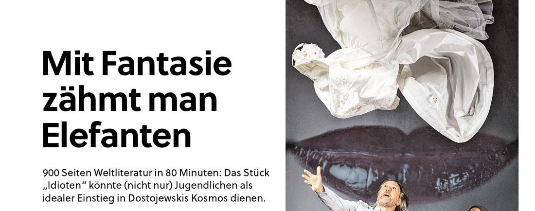 20191206 KRI SN IDIOTen 01 - Mit Fantasie zähmtman Elefanten SN vom 06.12.2019