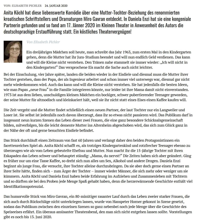 """200117 DZ Eiscreme 02 - """"Eiscreme"""" – immer ein Genuss! - Dorfzeitung vom 24.01.2020"""