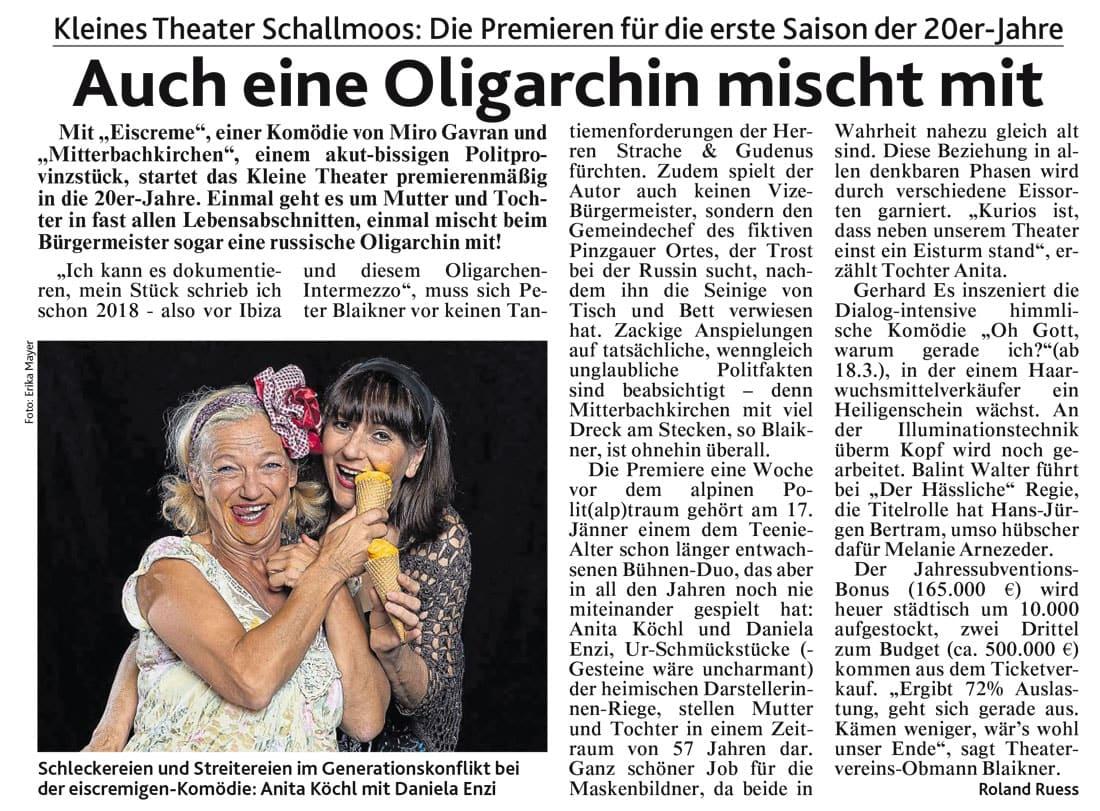 20200115 BER Pressekonferenz Krone 02 - Auch eine Oligarchin mischt mit - Kronenzeitung vom 15.01.2020