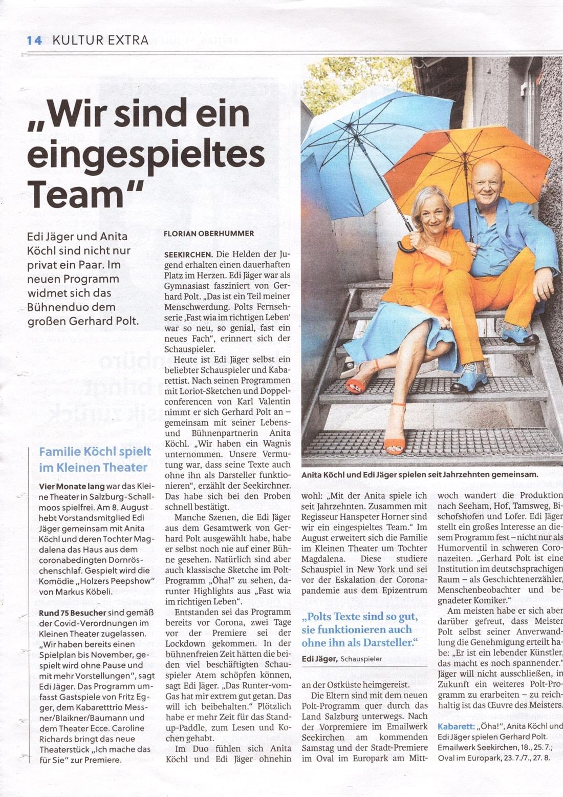 20200717 SCN Jaeger Kochl 02 - Wir sind ein eingespieltes Team - SN vom 17.07.2020